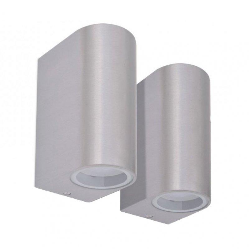 VidaXL Pack 2 Lámparas De Pared Para Exterior 50W GU10