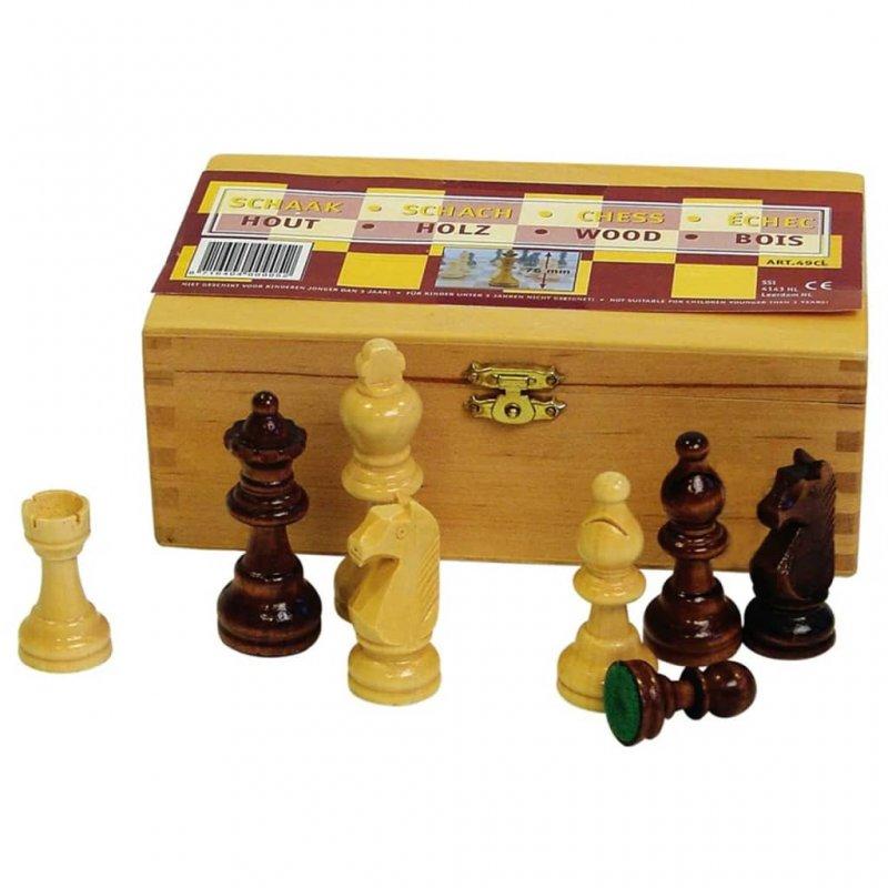 Abbey Game Juego de Piezas de Ajedrez con Estuche