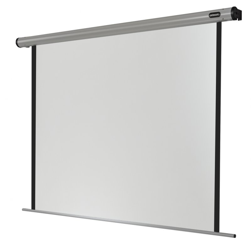 Celexon HomeCinema Pantalla De Proyección Eléctrica De 160x160cm