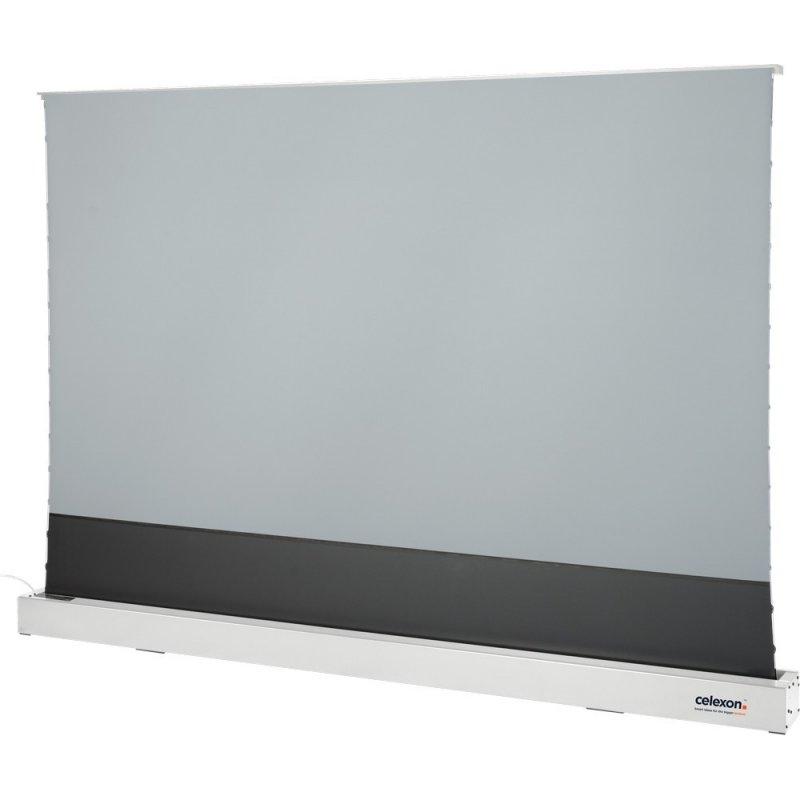 """Celexon CLR HomeCinema UST Pantalla De Proyección Eléctrica De Suelo 243x137cm 110"""" Blanca"""