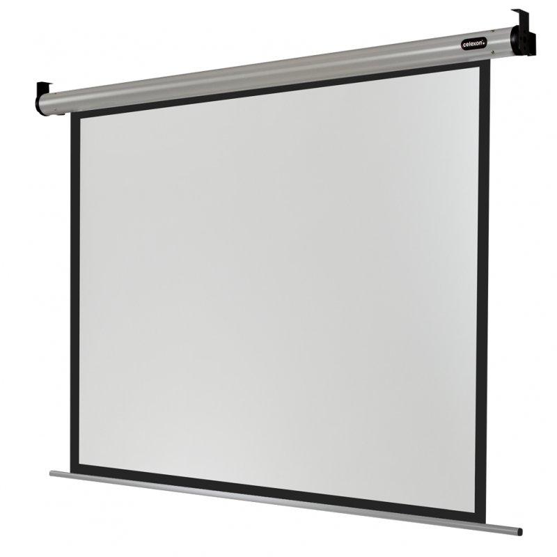 Celexon HomeCinema Pantalla De Proyección Eléctrica De 180x135cm