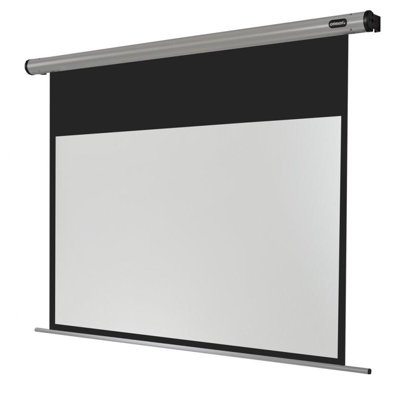 Celexon HomeCinema Pantalla De Proyección Eléctrica De 160x90cm