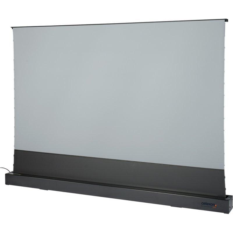 """Celexon CLR HomeCinema UST Pantalla De Proyección Eléctrica De Suelo 221x124cm 100"""" Negra"""