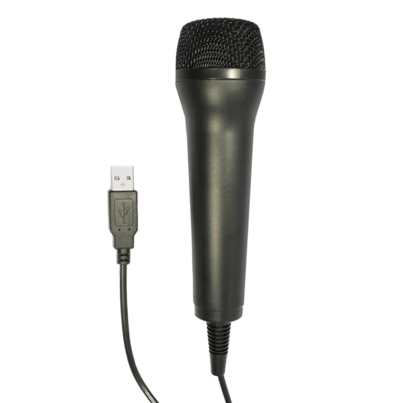 Iggual Micrófono USB Negro