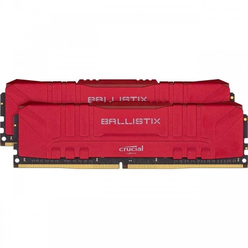 Crucial Ballistix DDR4 3600MHz PC4-28800 16GB 2x8GB CL16 Roja