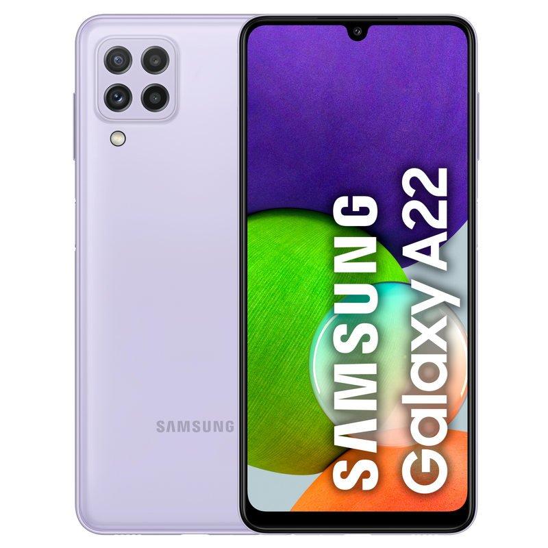 Samsung Galaxy A22 128Gb Violeta Libre