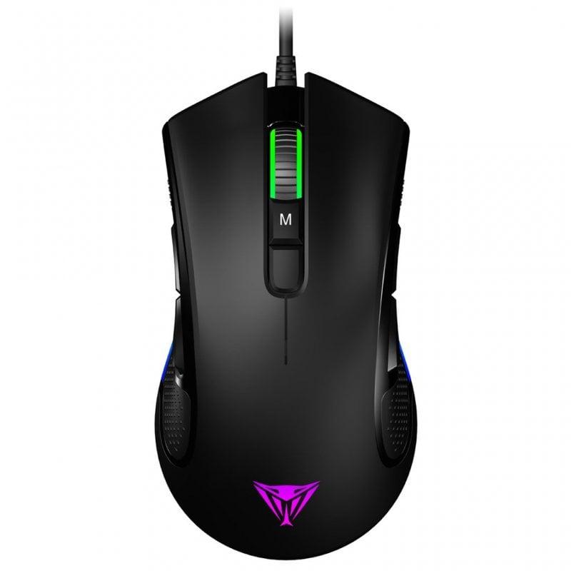 Patriot Viper V550 Ratón Gaming 10000 DPI Negro