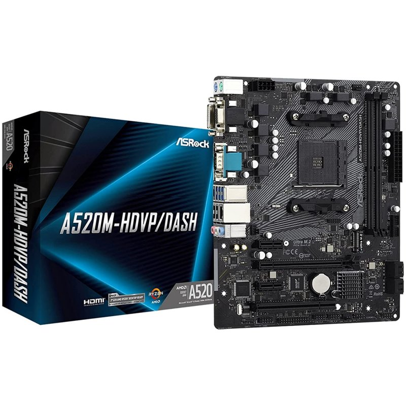 ASRock A520M-HDVP/DASH