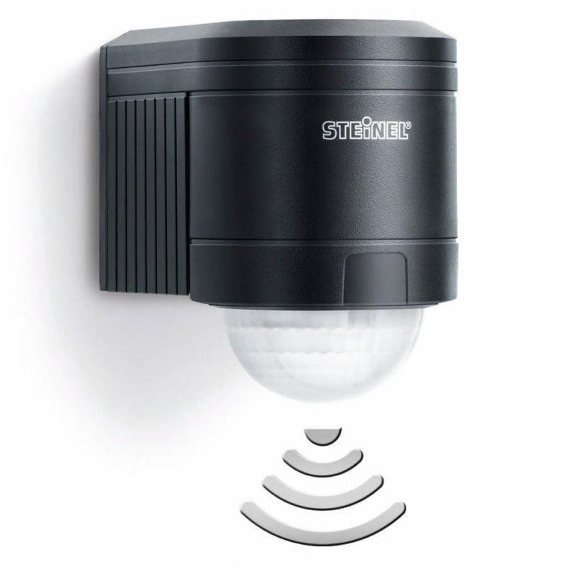 Steinel Is 240 Duo Detector De Movimiento Infrarrojo Negro