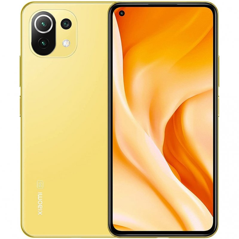 Xiaomi Mi 11 Lite 5G 8/128GB Amarillo Cítrico Libre