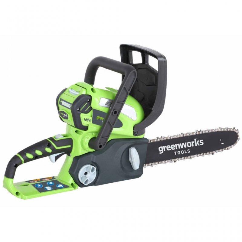 Greenworks  G40CS30 Motosierra Con Batería 40V