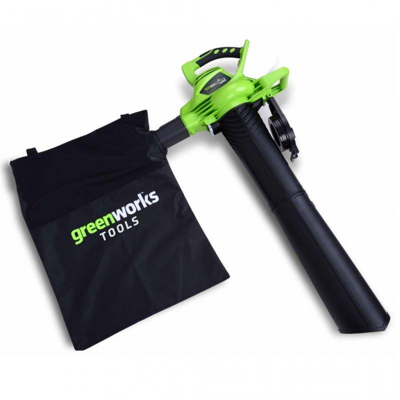 Greenworks GD40BV Soplador De Hojas/Aspirador A Batería