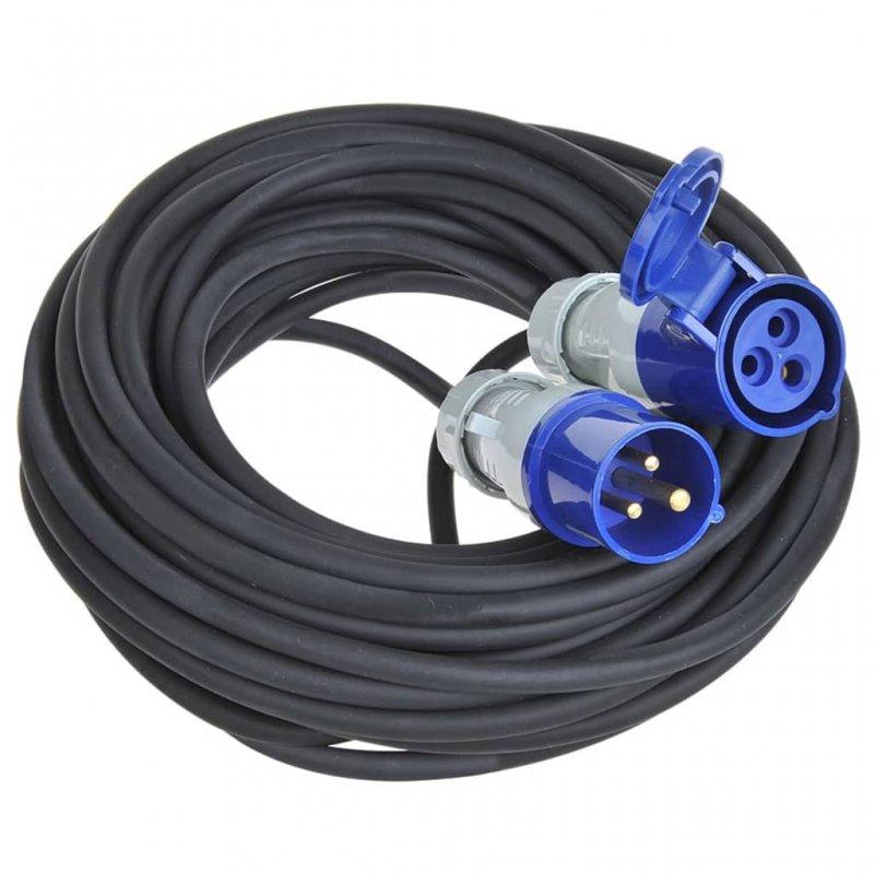 ProPlus Cable Extensión De Alimentación CEE 30m Negro/Azul