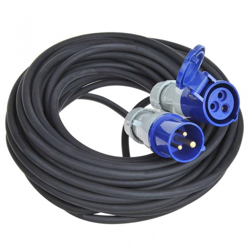 ProPlus Cable Extensión De Alimentación CEE 10m Negro/Azul