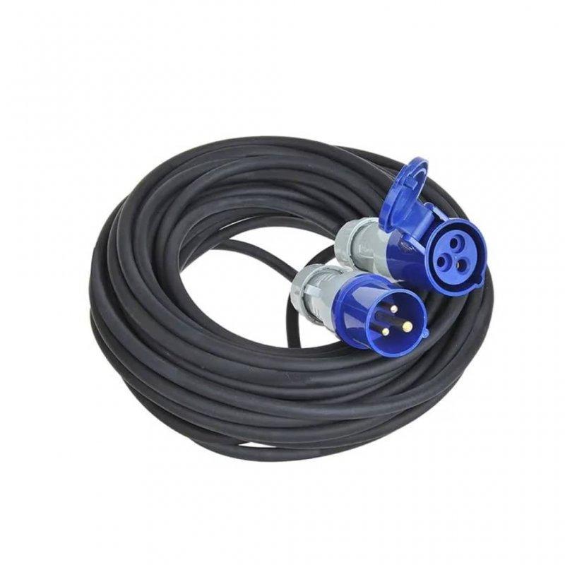 ProPlus Cable Extensión De Alimentación CEE 40m Negro
