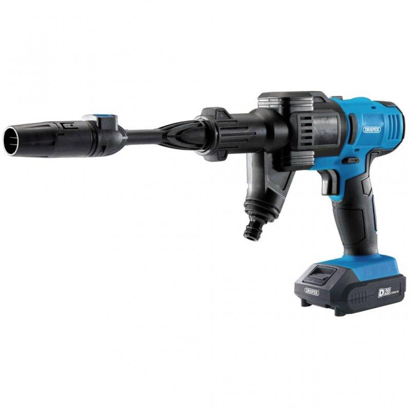 Draper Tools Kit De Limpiadora A Presión Con Batería D20 2Ah