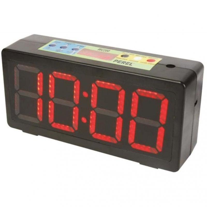 Perel Reloj Temporizador Negro