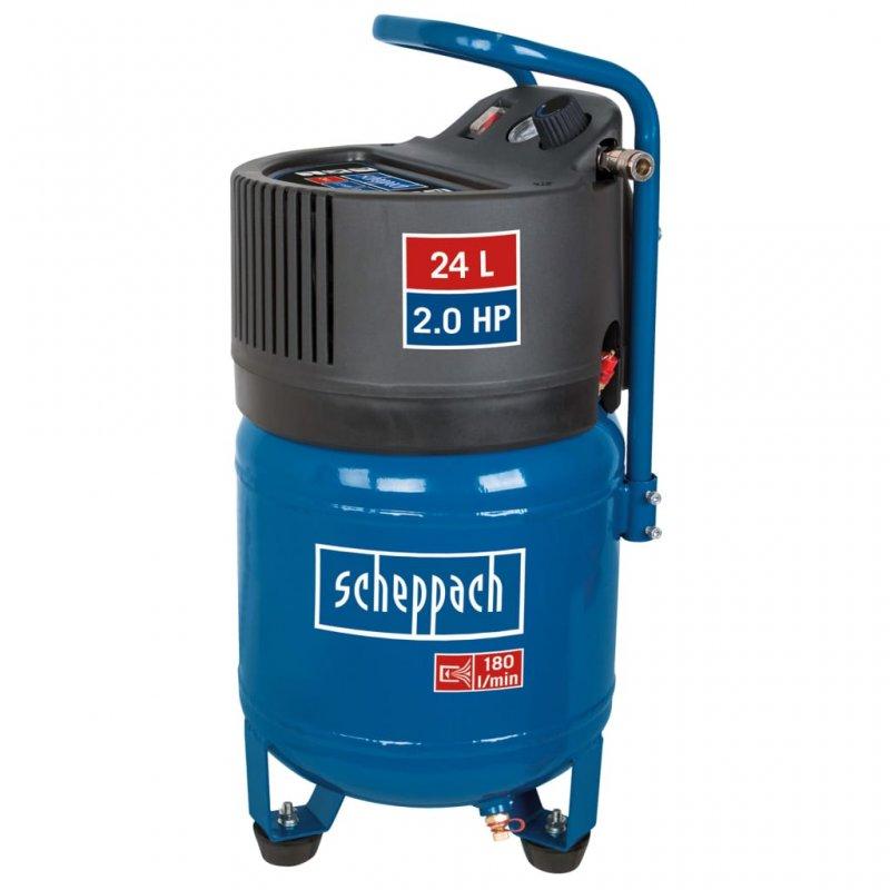 Scheppach HC24V Compresor Vertical 24L 1500W