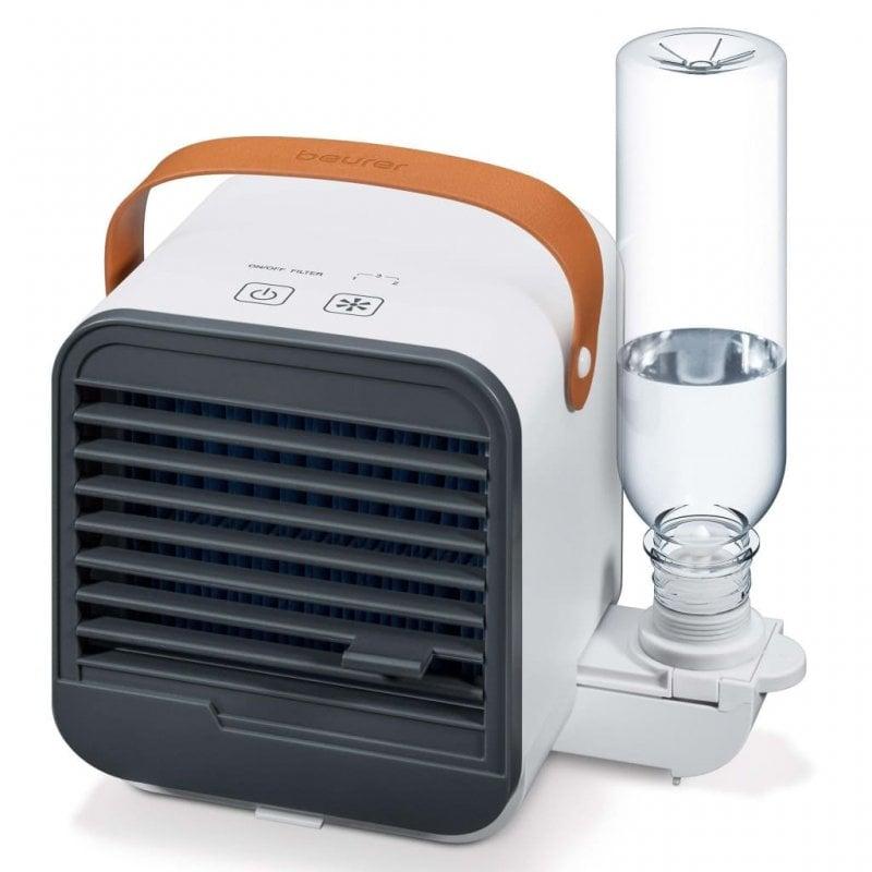 Beurer LV 50 Mini Ventildor De Sobremesa 2 En 1 2.5W Blanco
