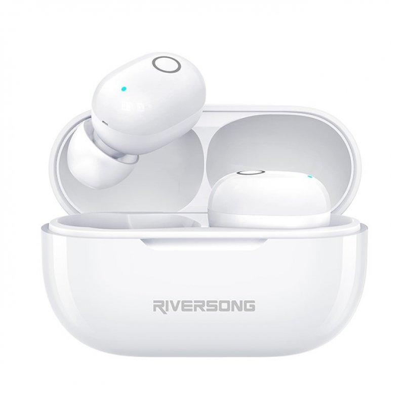 Riversong Air X19 Auriculares Bluetooth Blancos