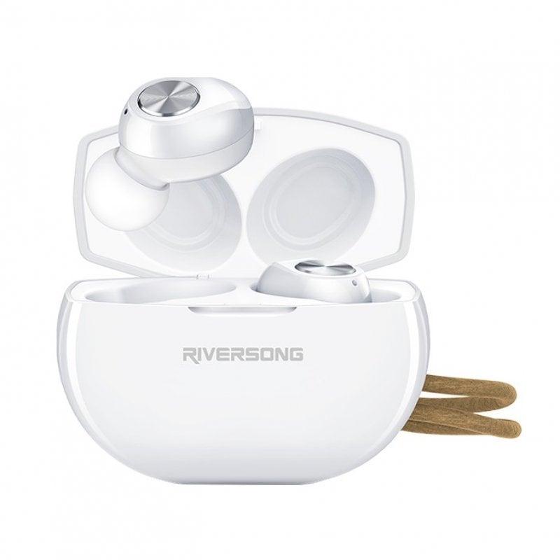 Riversong Air X10 TWS Auriculares Bluetooth Blancos