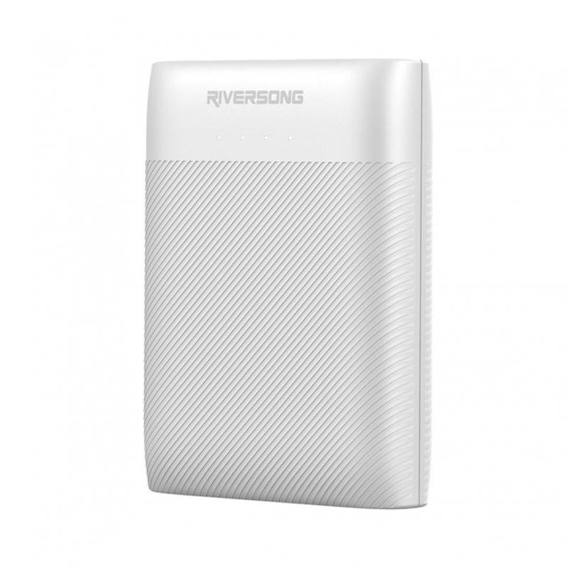 Riversong Nemo 07 Powerbank 7500mAh Blanco