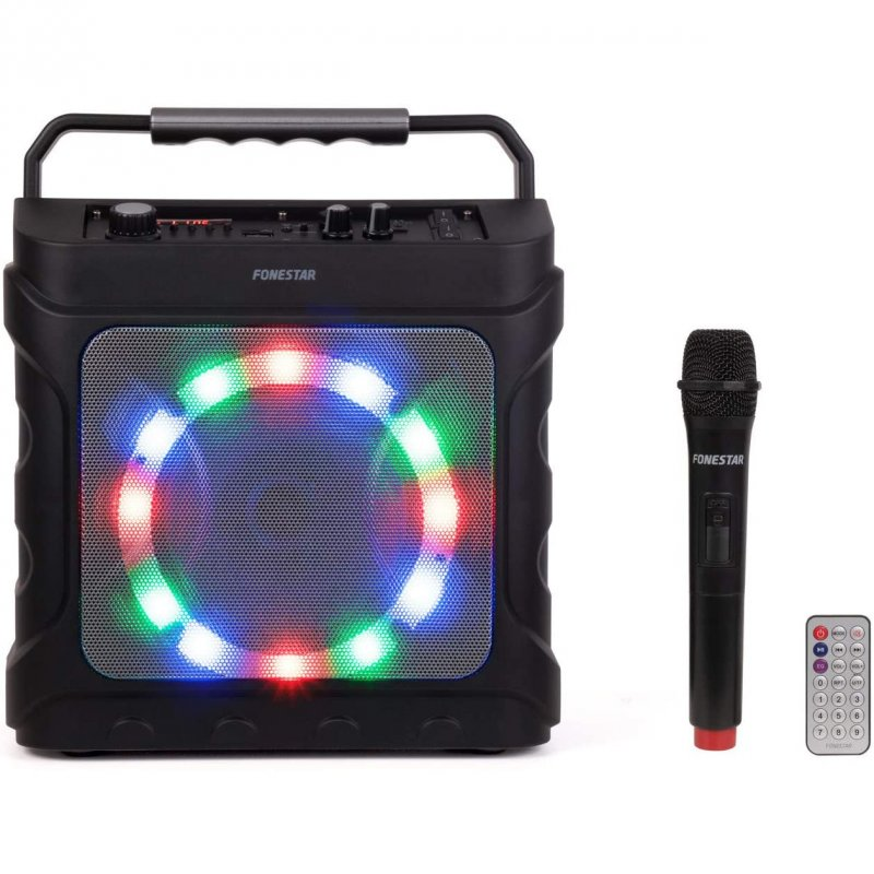 Fonestar Partybox Altavoz Con Karaoke 20W Negro