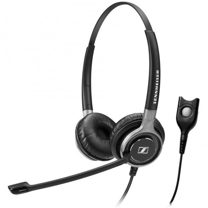 Sennheiser SC 660 Auriculares USB Negro/Plata