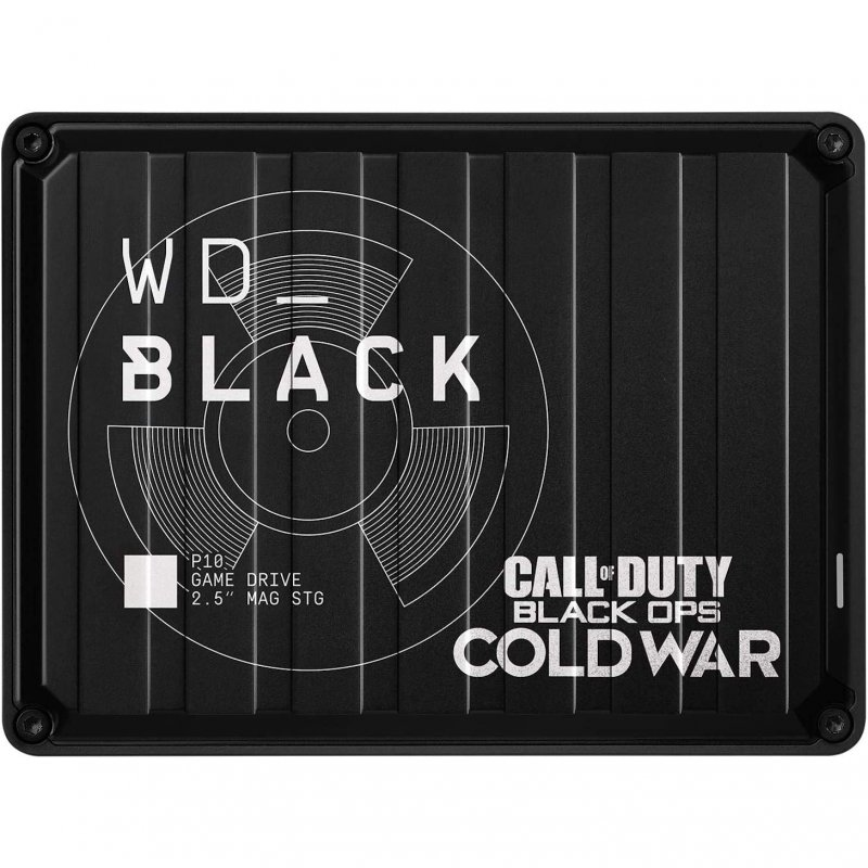 WD Black P10 Call of Duty Black Ops Cold War Special Edition 2TB USB 3.1