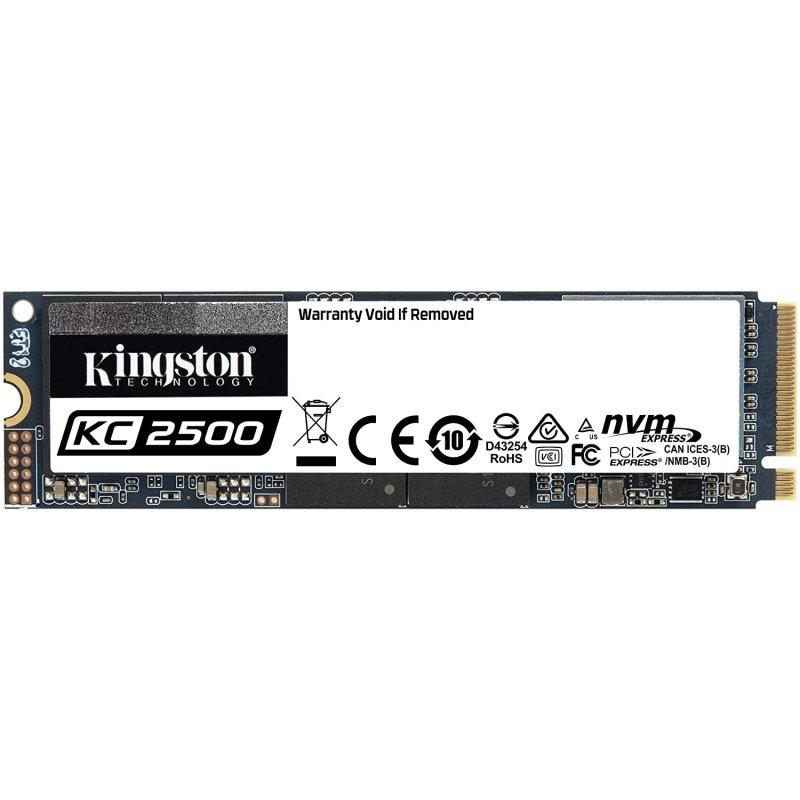 Kingston KC2500 SSD 2TB NVMe PCIe M.2