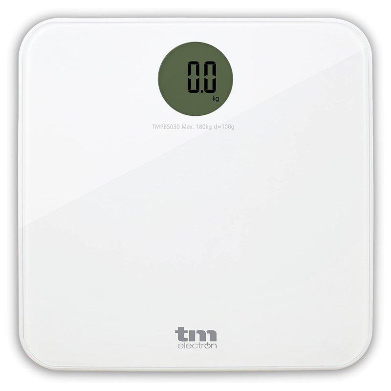TM Electron Báscula De Baño Blanca
