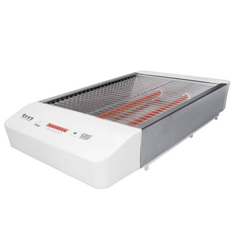 TM Electron Tostador Horizontal 600W Blanco