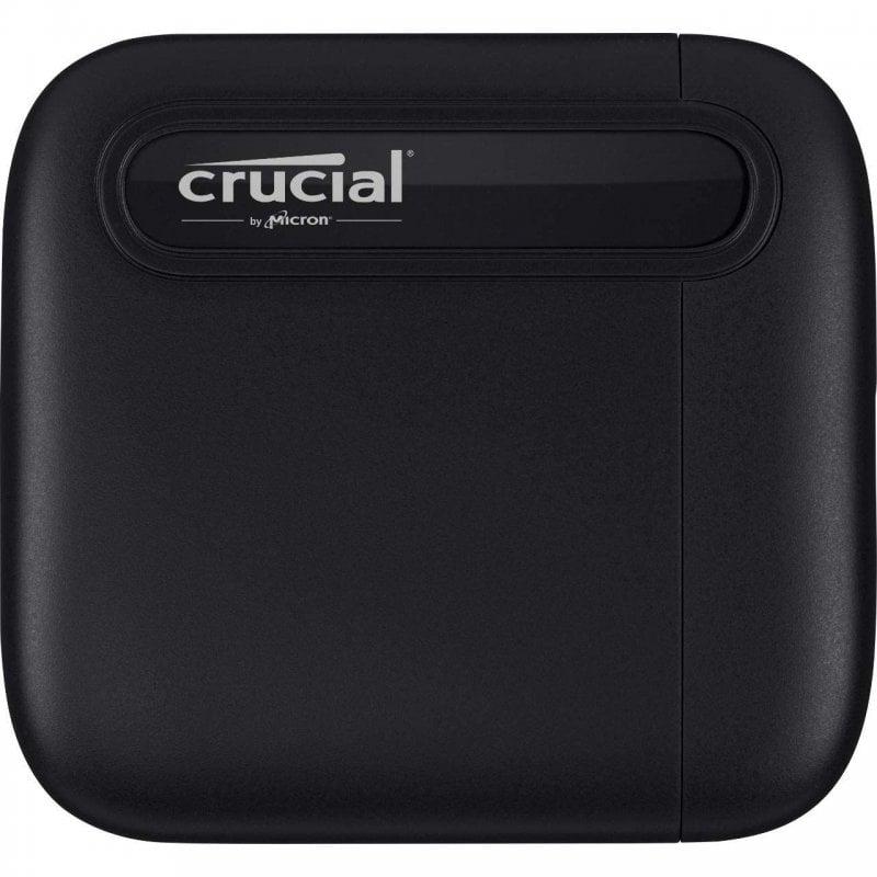 Crucial X6 SSD 4TB USB-C Negro