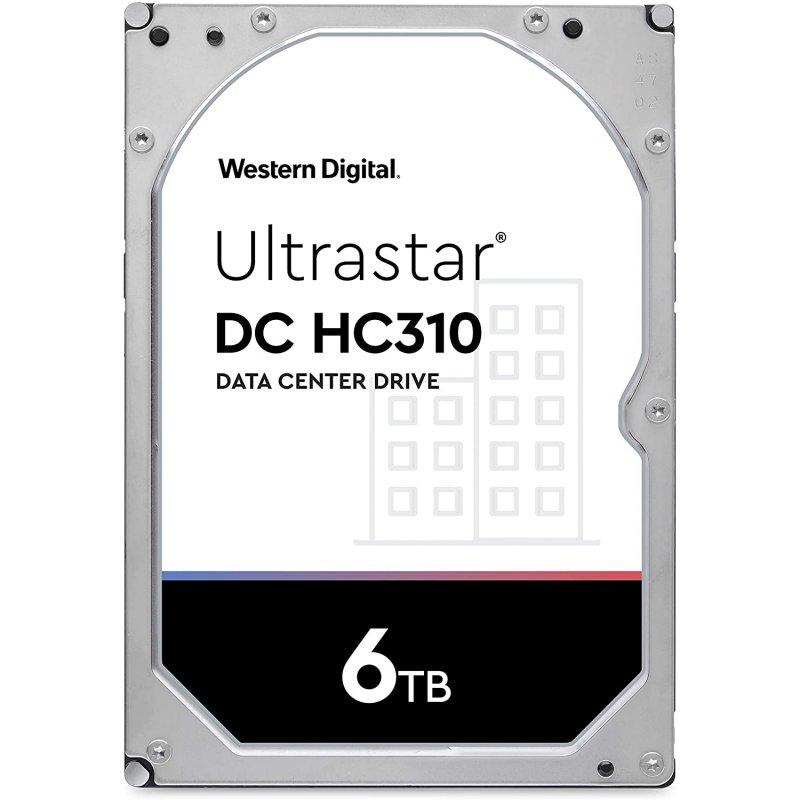 "WD Ultrastar DC HC310 3.5"" 6TB SATA 3"