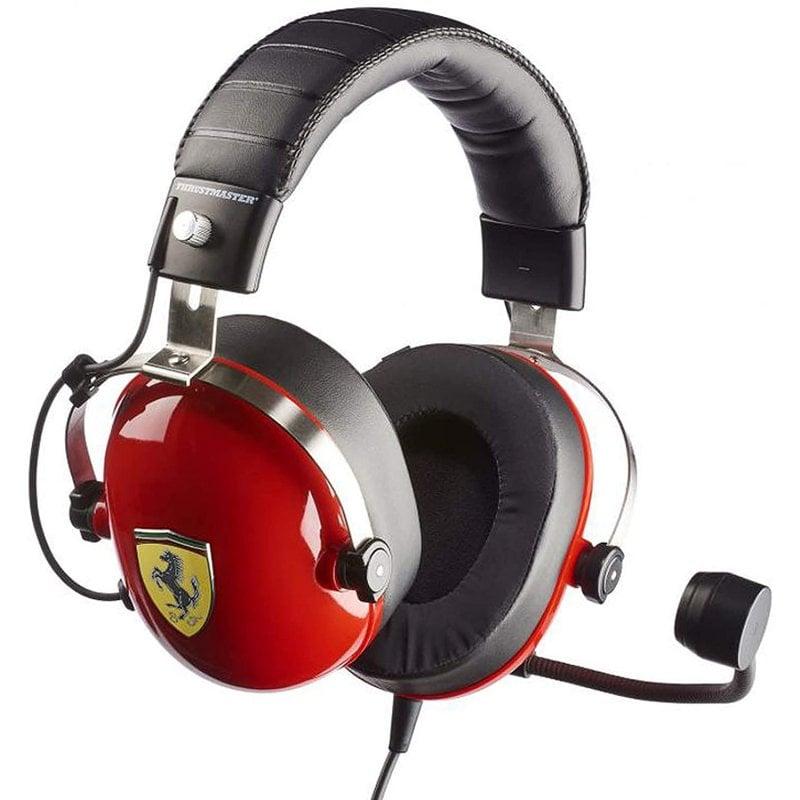 ThrustMaster T.Racing Scuderia Ferrari Edition-DTS Auriculares Gaming Multiplataforma Negro