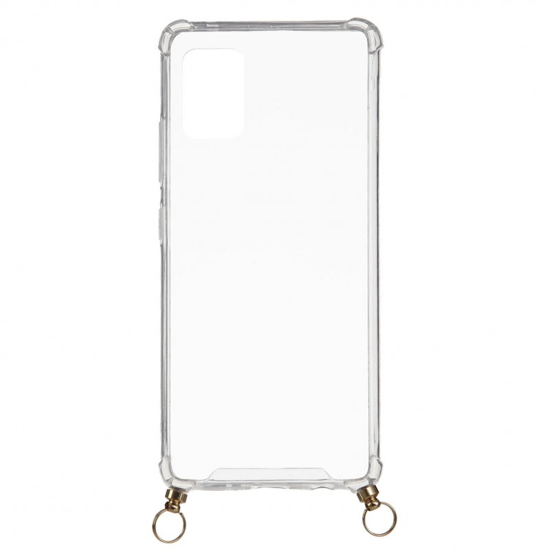 Funda Silicona Colgante Transparente Para Samsung Galaxy A51