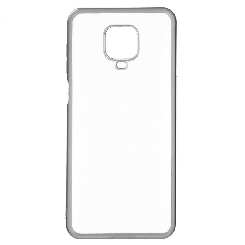 Funda Bumper Premium Plata Para Xiaomi Redmi Note 9 Pro