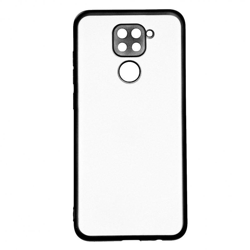 Funda Bumper Premium Negra Para Xiaomi Redmi Note 9