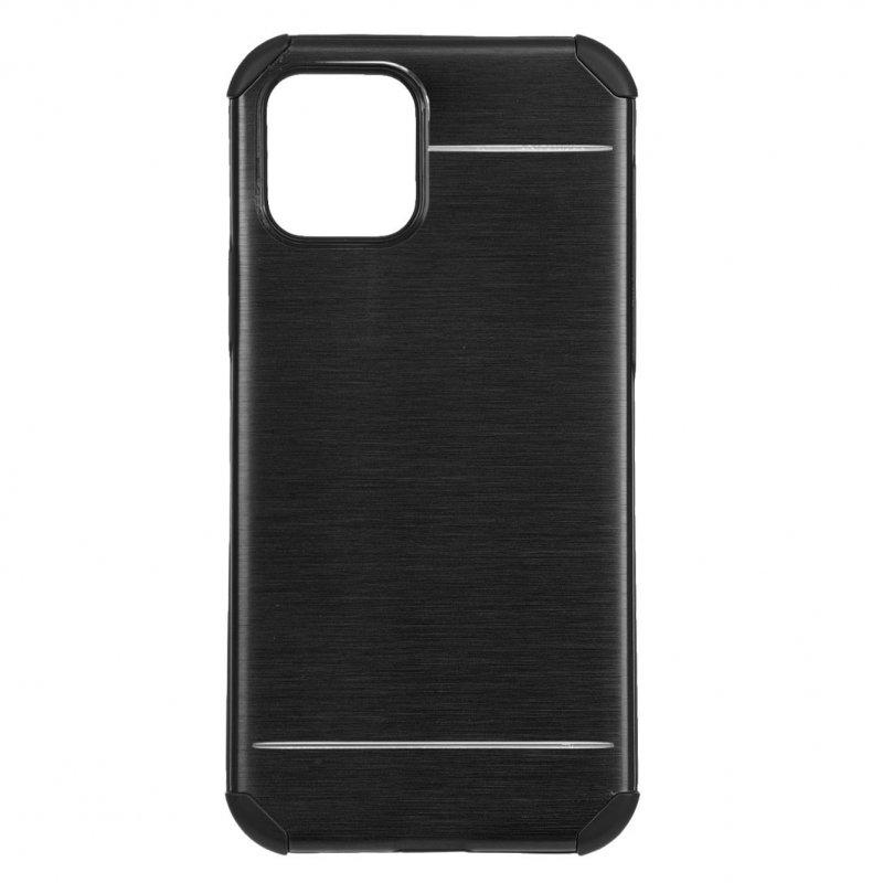 Funda Metalizada Negra Para IPhone 12 Pro Max