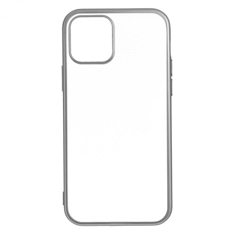 Funda Bumper Premium Plata Para IPhone 12 Mini