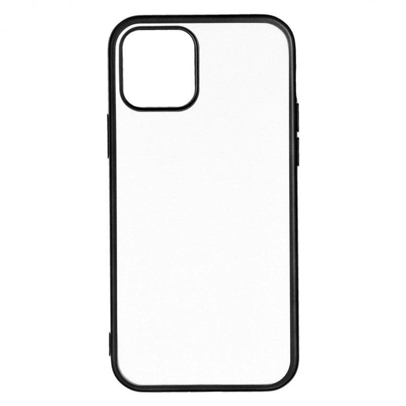 Funda Bumper Premium Negra Para IPhone 12 Pro Max
