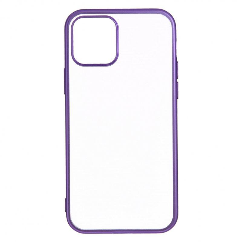 Funda Bumper Premium Morada para iPhone 12 Pro Max