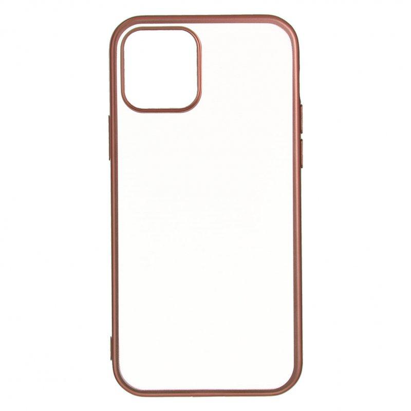 Funda Bumper Premium Oro Rosa Para IPhone 12 Pro Max