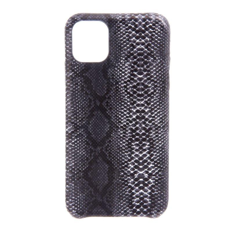 Funda Animal Print Serpiente Negra Para IPhone 11