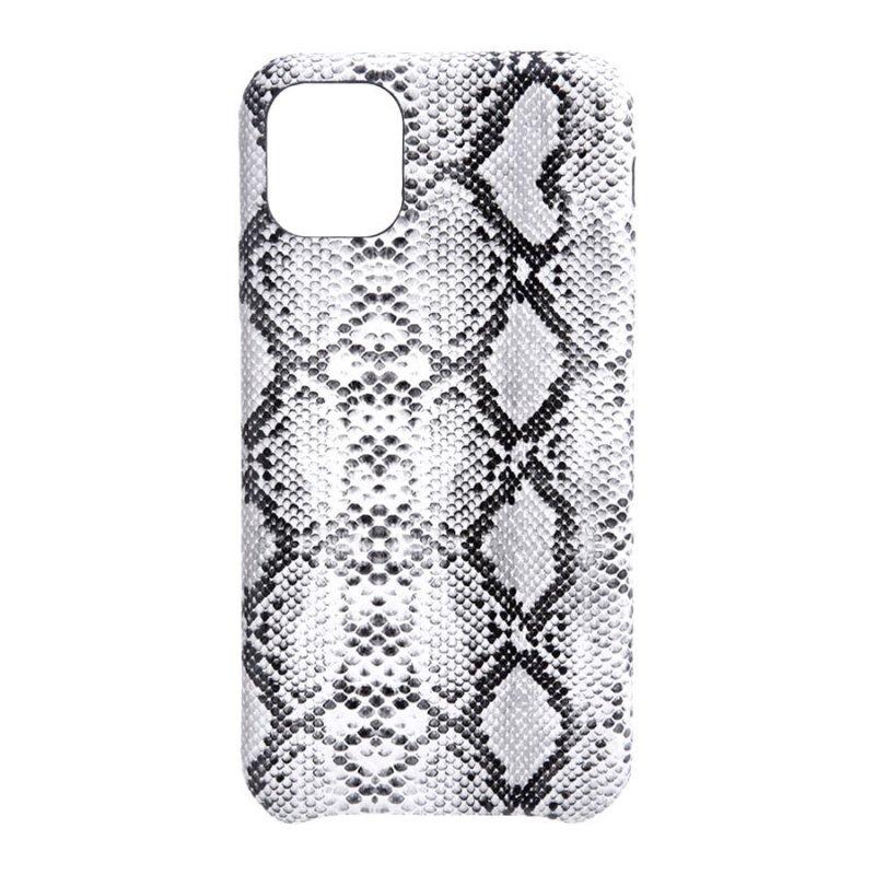 Funda Animal Print Serpiente Blanca Para IPhone 11