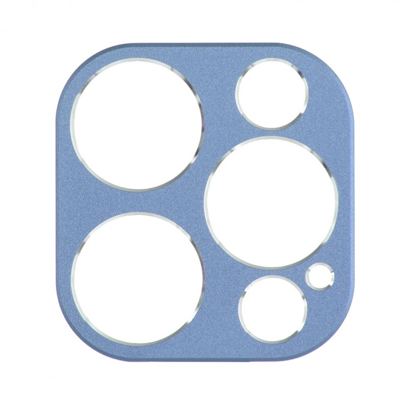 Protector De Cámara Azul Clara Para IPhone 12 Pro