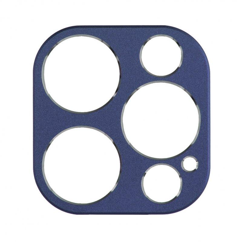 Protector De Cámara Azul Marina Para IPhone 12 Pro