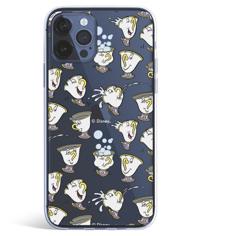 Funda Oficial De Disney La Bella Y La Bestia Chip Potts Siluetas Para IPhone 12 Pro Max