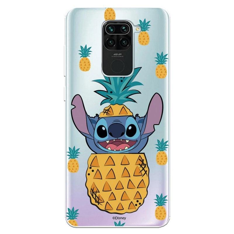 Funda Oficial De Disney Stitch Piñas Para Xiaomi Redmi Note 9
