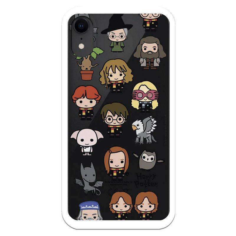 Funda Oficial de Harry Potter Personajes Iconos para iPhone XR